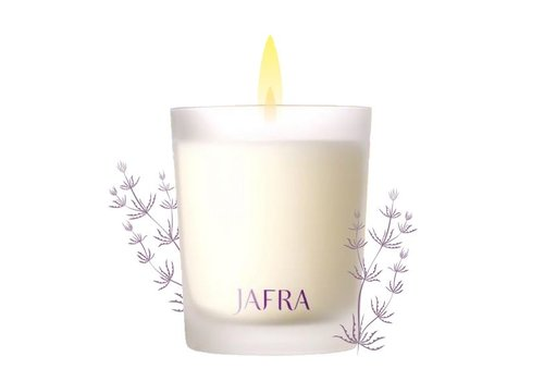 Jafra Ginger and Seaweed Scented Candle