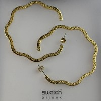 Swatch bijoux Florecita Yellow Gold Earrings