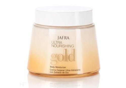 Jafra Körpercreme mit Goldpartikeln