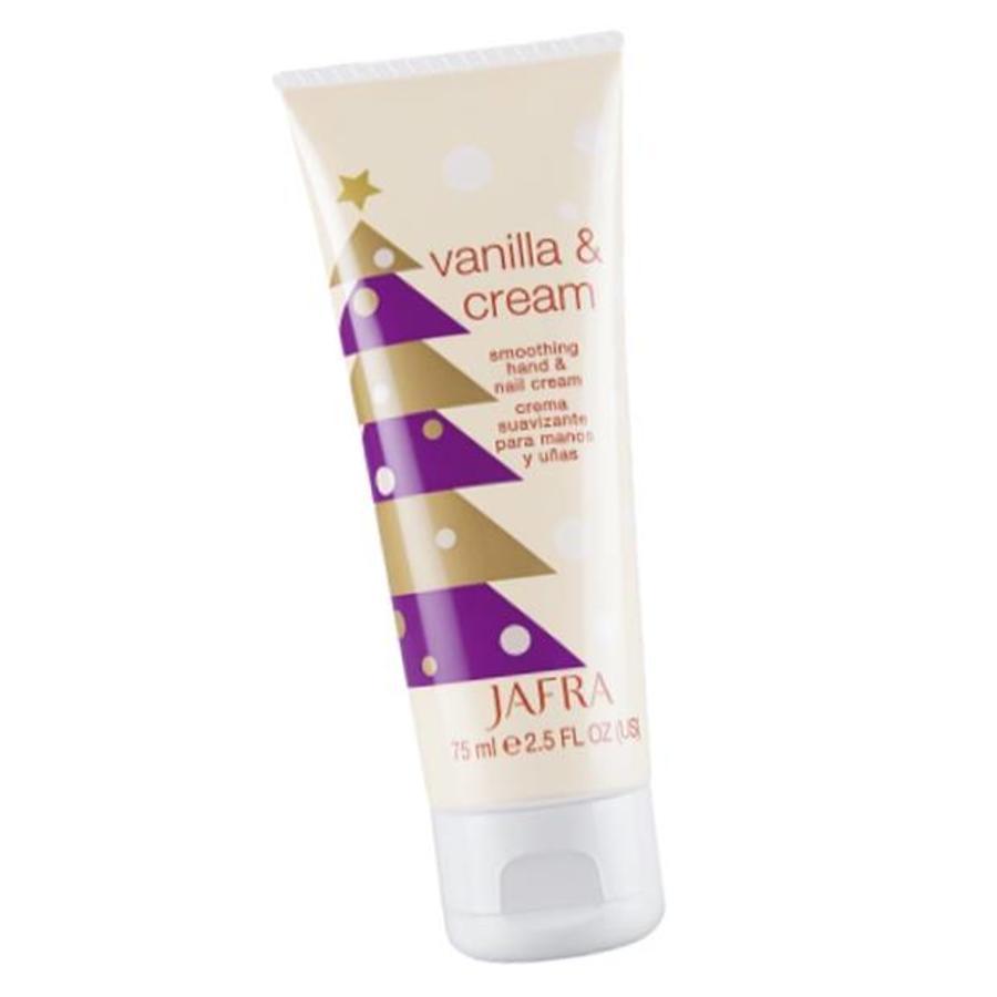 Feuchtigkeitsspendende Hand- und Nagelcreme Vanilla & Cream