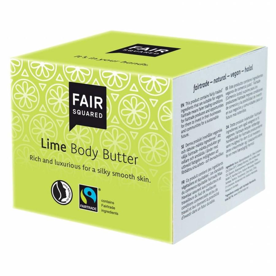 Body Butter Lime