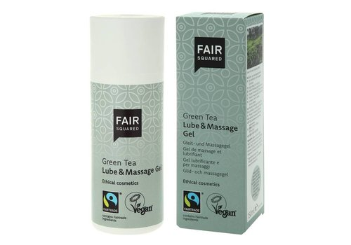 Fair Squared Lube & Massage Gel Green Tea
