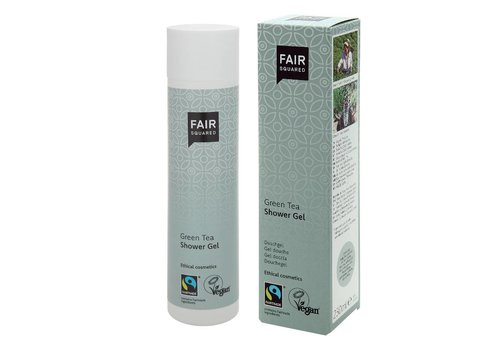 Fair Squared Shower Gel Green Tea 250ml