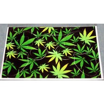 Playstation 3 Dualshock Controller Sticker Marijuana
