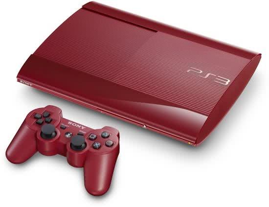 Playstation 3 Super Slim 500gb Rood