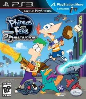 Disney Phineas and Ferb: Across the Second Dimension