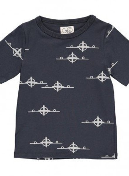 Gro Company T Shirt vliegtuig