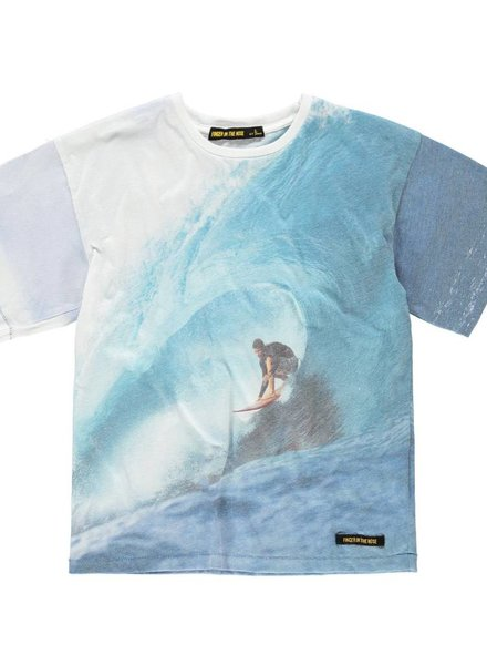 Finger in the nose T shirt wave rider