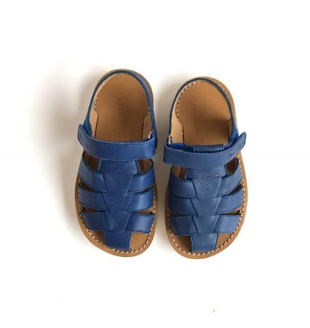 pom d 39 api sandalen blue klein odille octaaf. Black Bedroom Furniture Sets. Home Design Ideas