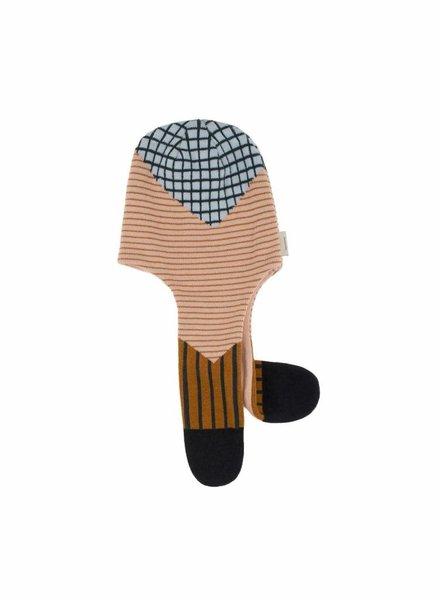 Tiny Cottons Muts - sjaal met ruiten en lijnen