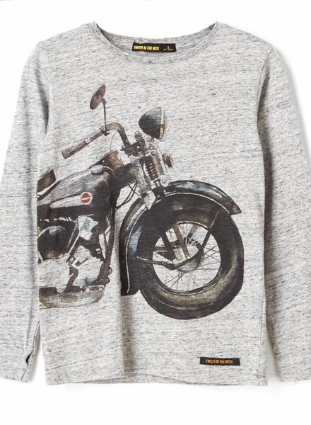 Finger in the nose T shirt longsleeves Iron horse