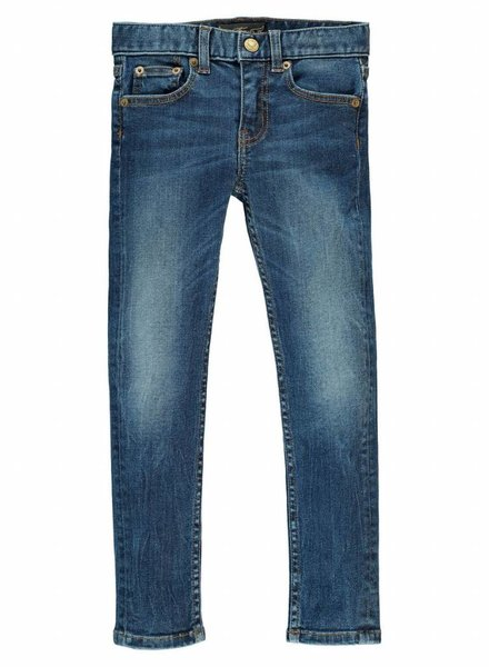 Finger in the nose Jeans icon vintage blue