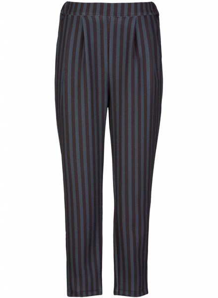 BY-BAR Broek stripe navy