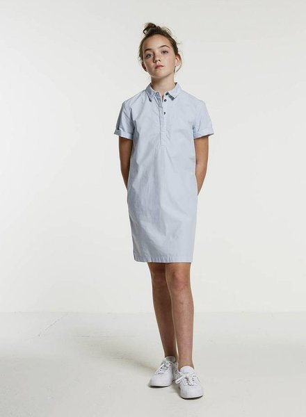 BY-BAR Dress polo sky