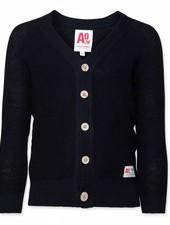 AO76 Cardigan classic navy