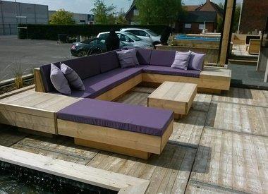 Steigerhout loungesets