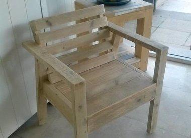 mobilier de jardin bois recyclé - BCdesignwood