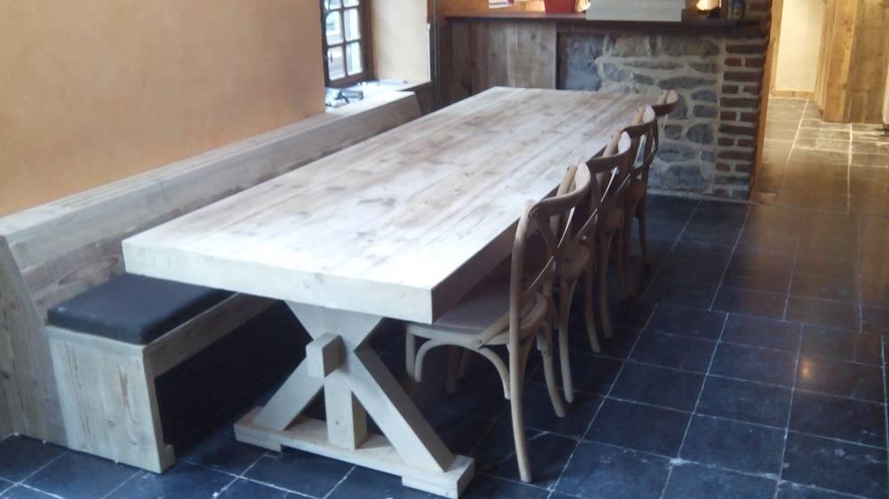Tafels steigerhout bcdesignwood bvba bernard callewaert