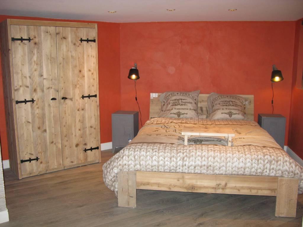 Wanden Van Steigerhout : Steigerhouten wandbord steigerhouten meubelen