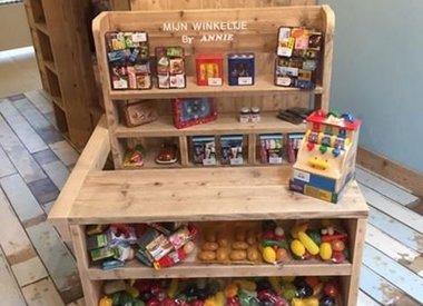 Steigerhouten Speelgoed en deco