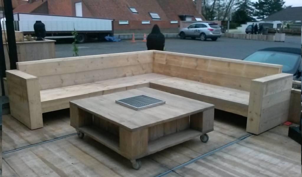 Bcdesignwood Scaffolding Wooden Corner Sofas Rome Copy