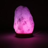 Himalayan Mood zoutlamp wit USB LEDS