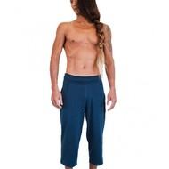 Yoga broek 'Shaolin' driekwart man navy