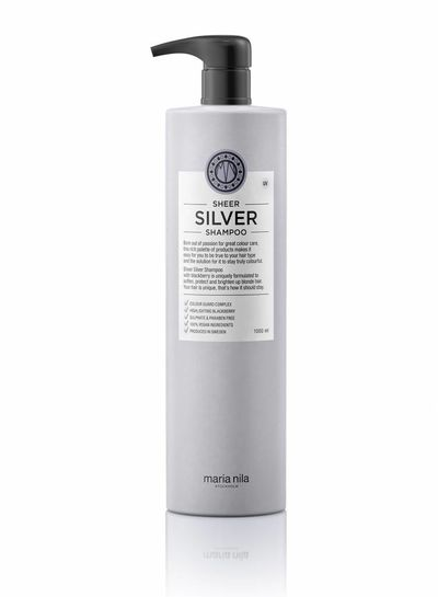 Maria Nila Sheer Silver Shampoo 1000ml