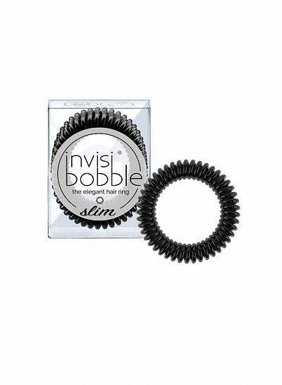 invisibobble® SLIM True Black Haargummi