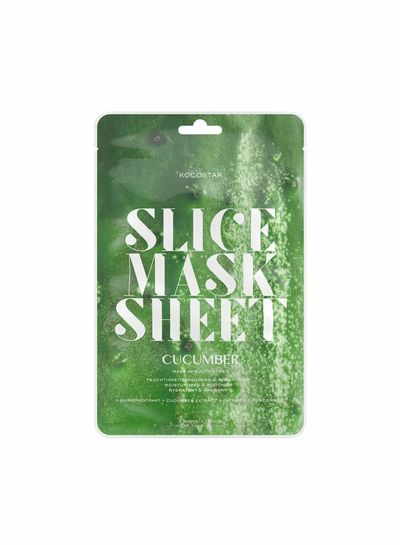 Kocostar Kocostar Slice Mask Cucumber – die Gurkenmaske