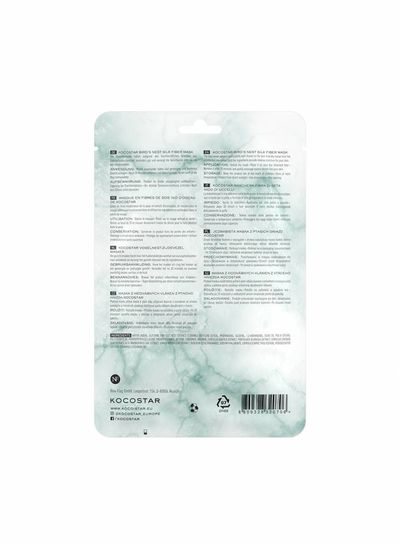 Kocostar Kocostar Sheet Mask – Bird's Nest Silk Fiber Mask