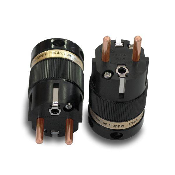 IeGo 8055 Pure Copper Schuko Plug