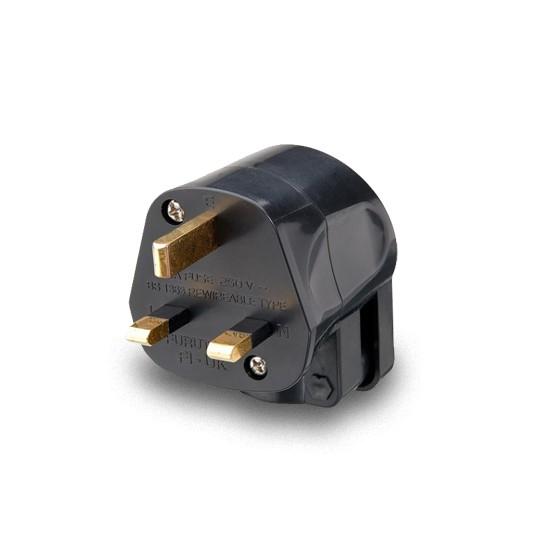 Furutech FI-UK1363-N1(Gold) UK Mains Plug