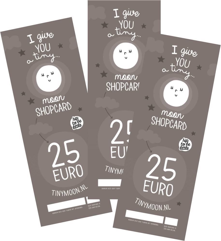 tinymoon shopcard € 25,00