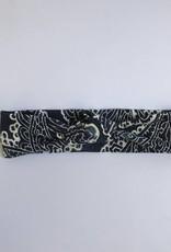 tinymoon Batik Blue / haarband knoop