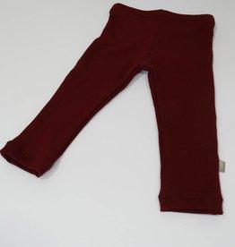 Basic Bordeaux / joggingstof legging