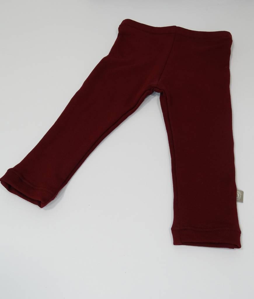 tinymoon Basic Bordeaux / joggingstof legging