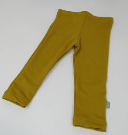 Basic Ocre / joggingstof legging