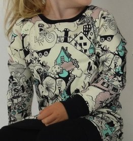 Fairytale Forest / Sweater Dress