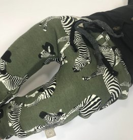 Zippy Zebra armygreen / drop crotch
