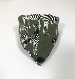 Zippy Zebra  army / slab bandana sjaal