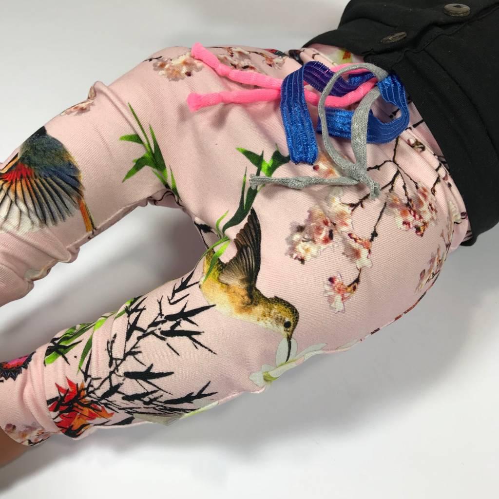tinymoon Bamboo Breeze Pink/ drop crotch