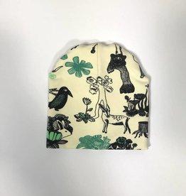 Wild Woods / newborn beanie / mutsje
