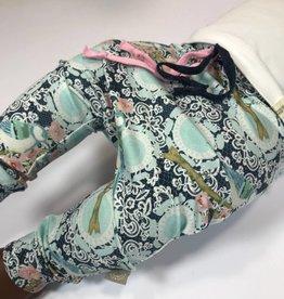 Bird lace / drop crotch