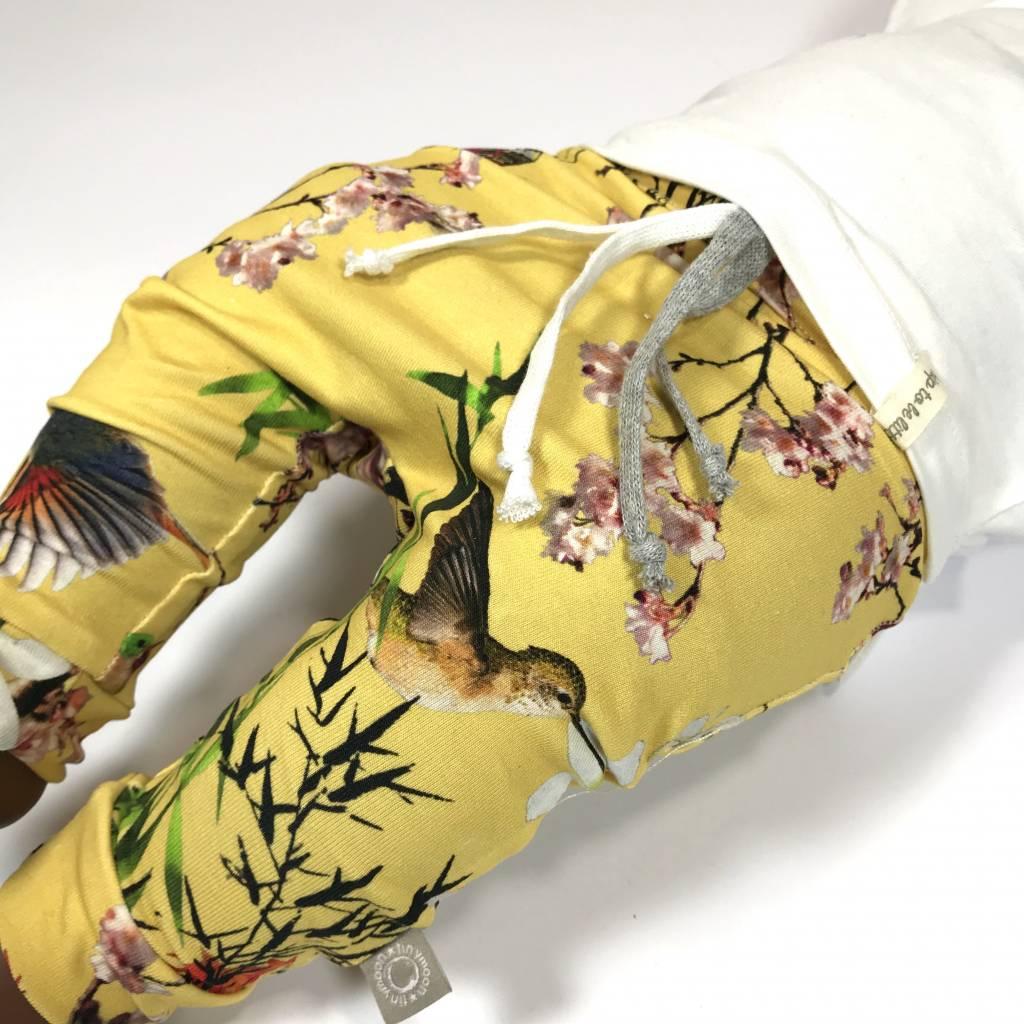 tinymoon Bamboo Breeze Yellow / drop crotch
