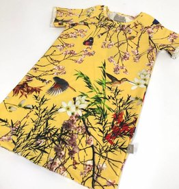Bamboo Breeze yellow / Tee dress