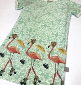 Roulez Flamant  / Tee dress