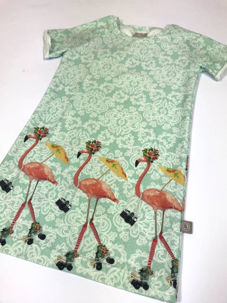 tinymoon Roulez Flamant   / Tee dress