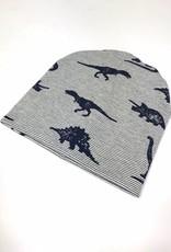 tinymoon Mino Dino navy / newborn beanie / mutsje