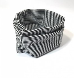 Fine Stripe black  / colsjaal